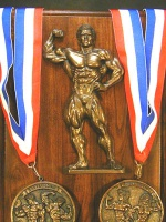 Male Bodybuilding Plaque item 13