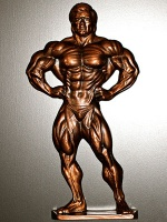 Male Physique Plaque item #167 - full