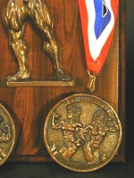 Female Bodybuilding Medallion  item 47